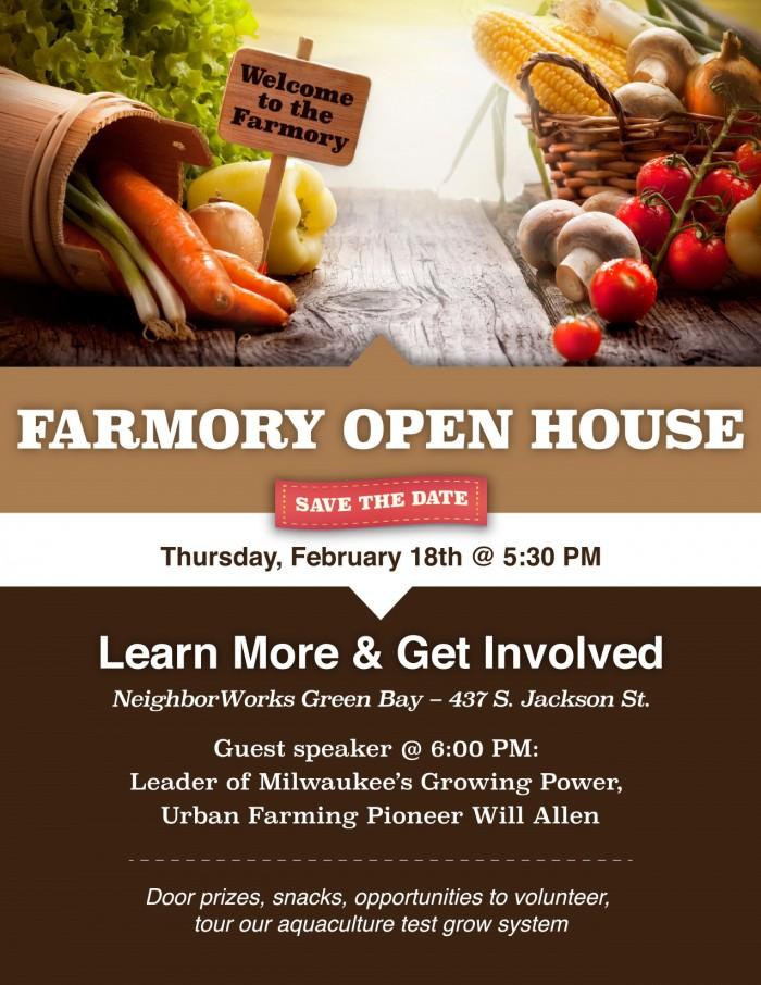Farmory Open House Flyer