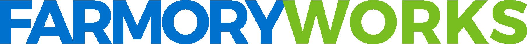 Farmory logo and graphic