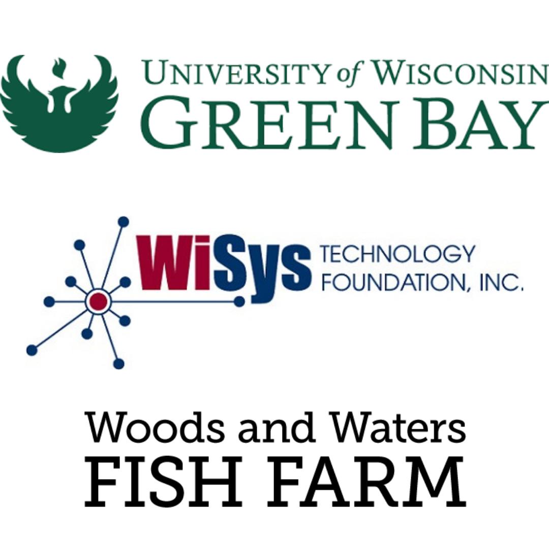 UWGB, WiSys, W&W Fish Farm Partnership Highlight graphic